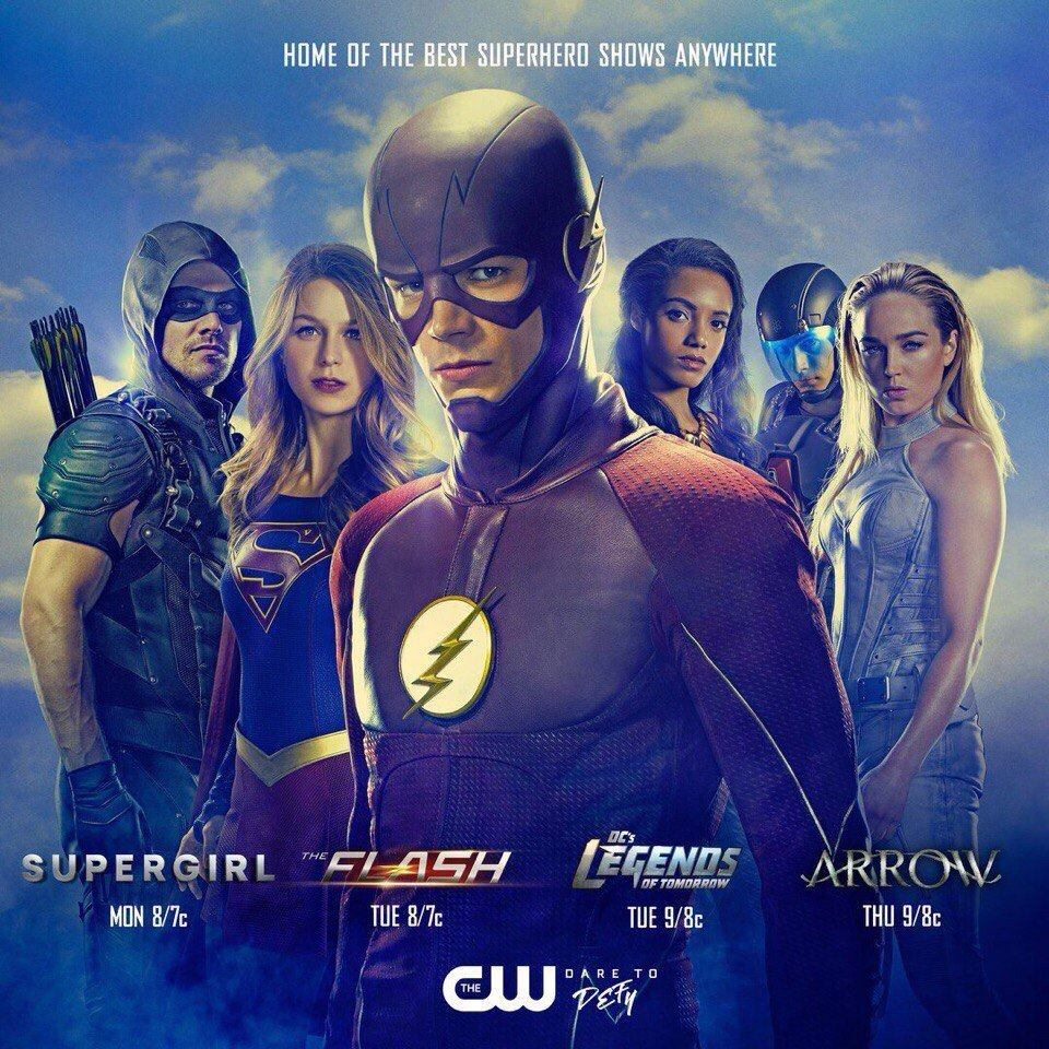New Promo Art For The Upcoming DC TV Season Surfaces