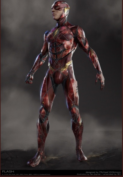 Fresh Justice League Concept Art Offers New Look At The Flash