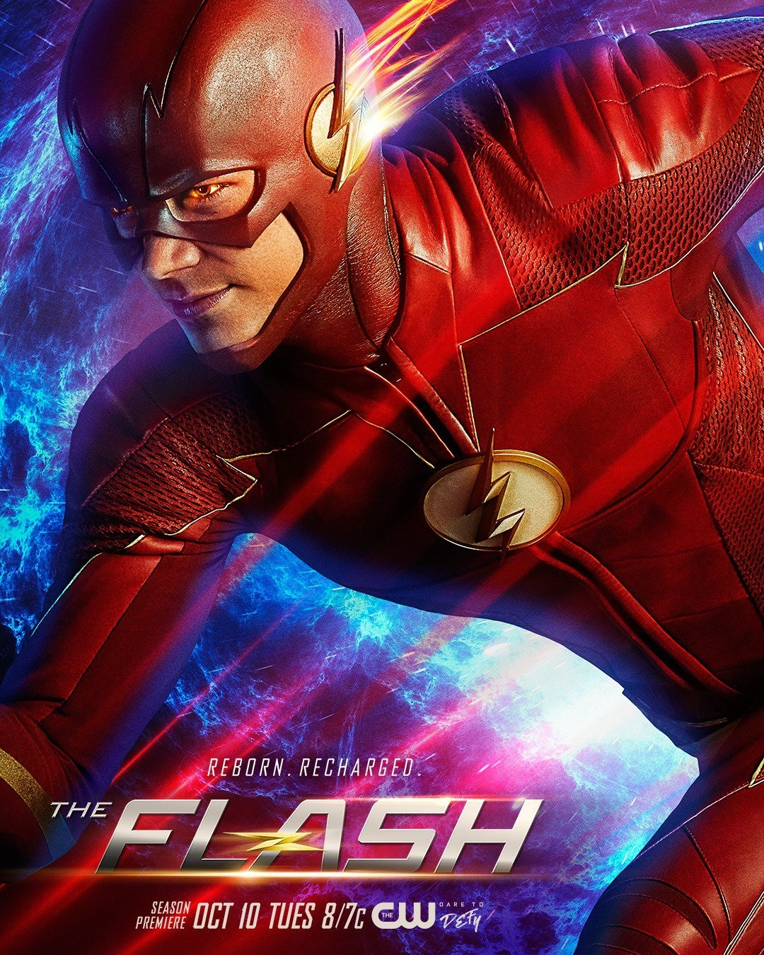 New Season 4 Poster Provides Even Better Look At The Flash's New Costume
