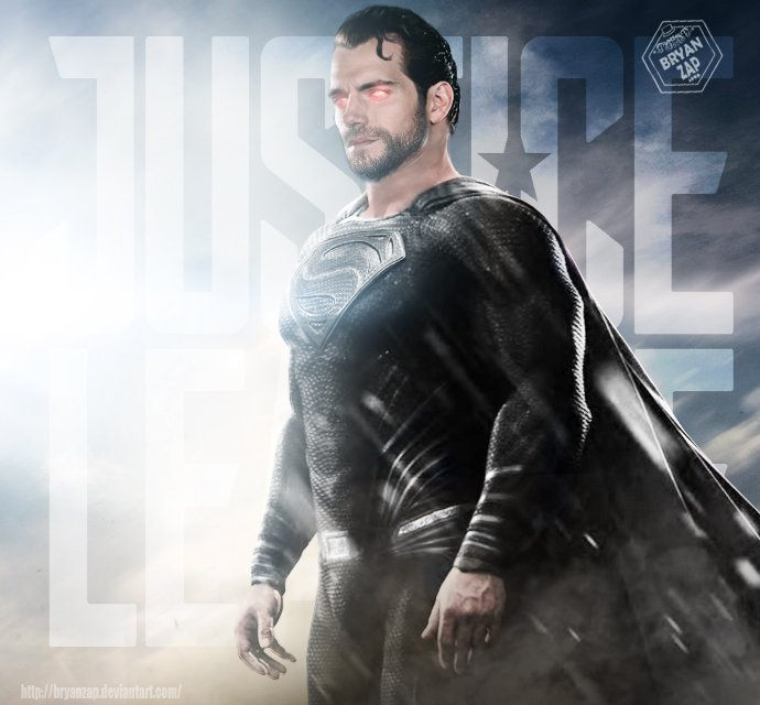 Here's What Black Suit Superman Could Look Like In Justice League