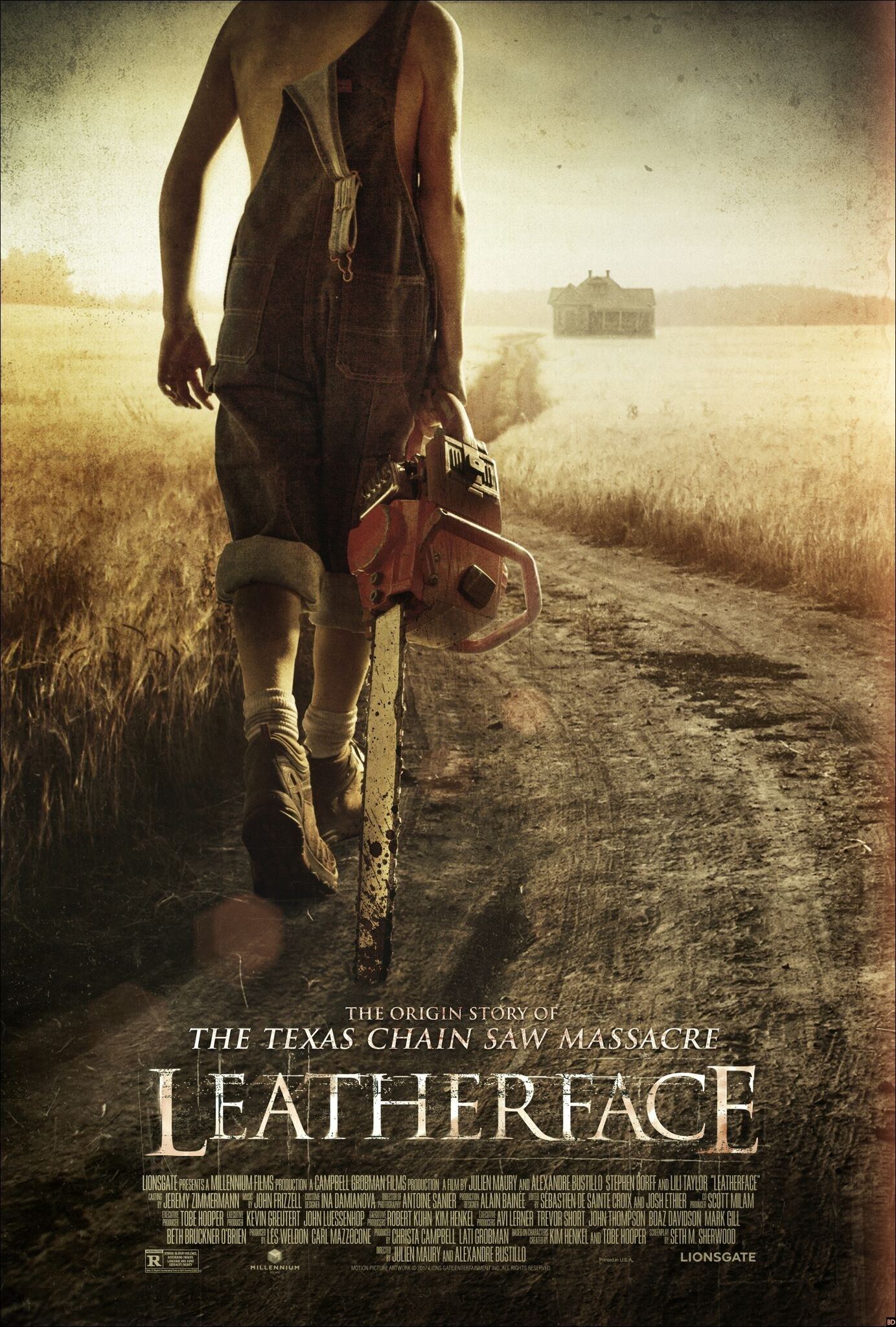 Horror Prequel Leatherface Gets One Final Poster Before The Killing Spree Begins