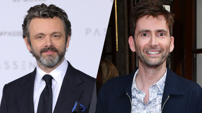 See David Tennant and Michael Sheen in first photo from 'Good Omens'