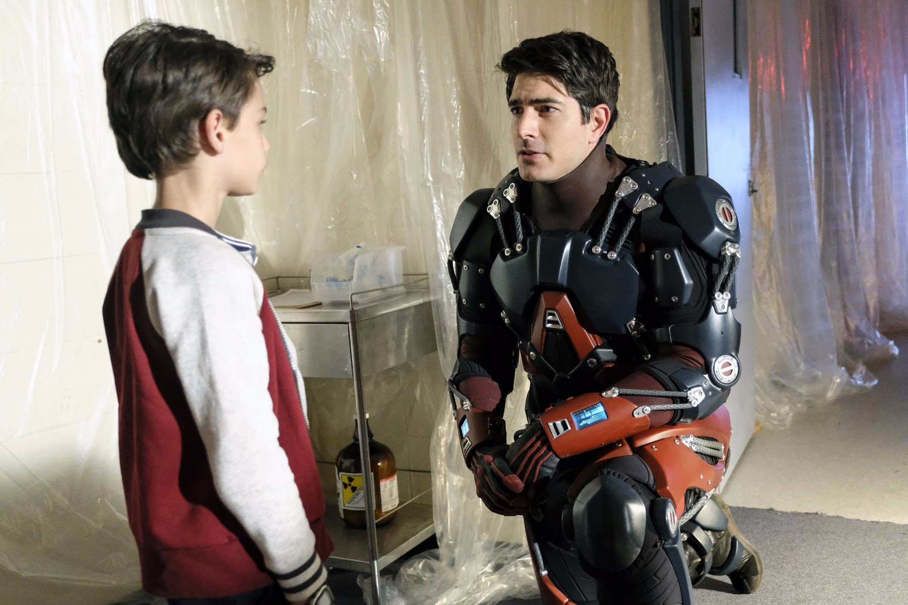 Ray Palmer Phones Home In New Photos For Next Week's Legends Of Tomorrow