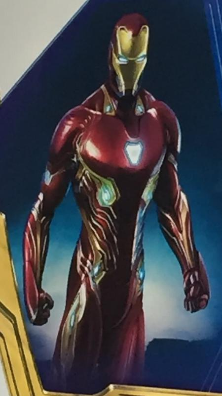 New Avengers: Infinity War Promo Art Points To Major Upgrade For Iron Man