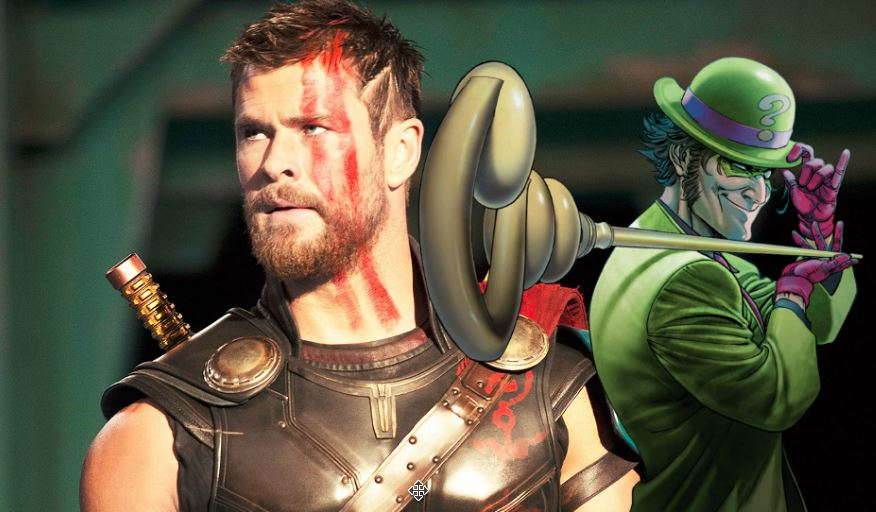 Chris Hemsworth Jokes About Playing The Riddler In The DCEU