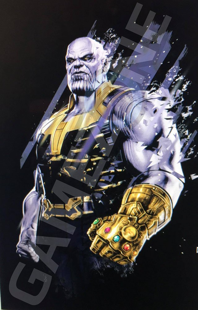 Thanos Wields The Gauntlet On New Avengers: Infinity War Promo Art
