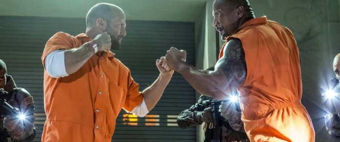 New Hobbs And Shaw Photos Teases A Massive Action Sequence