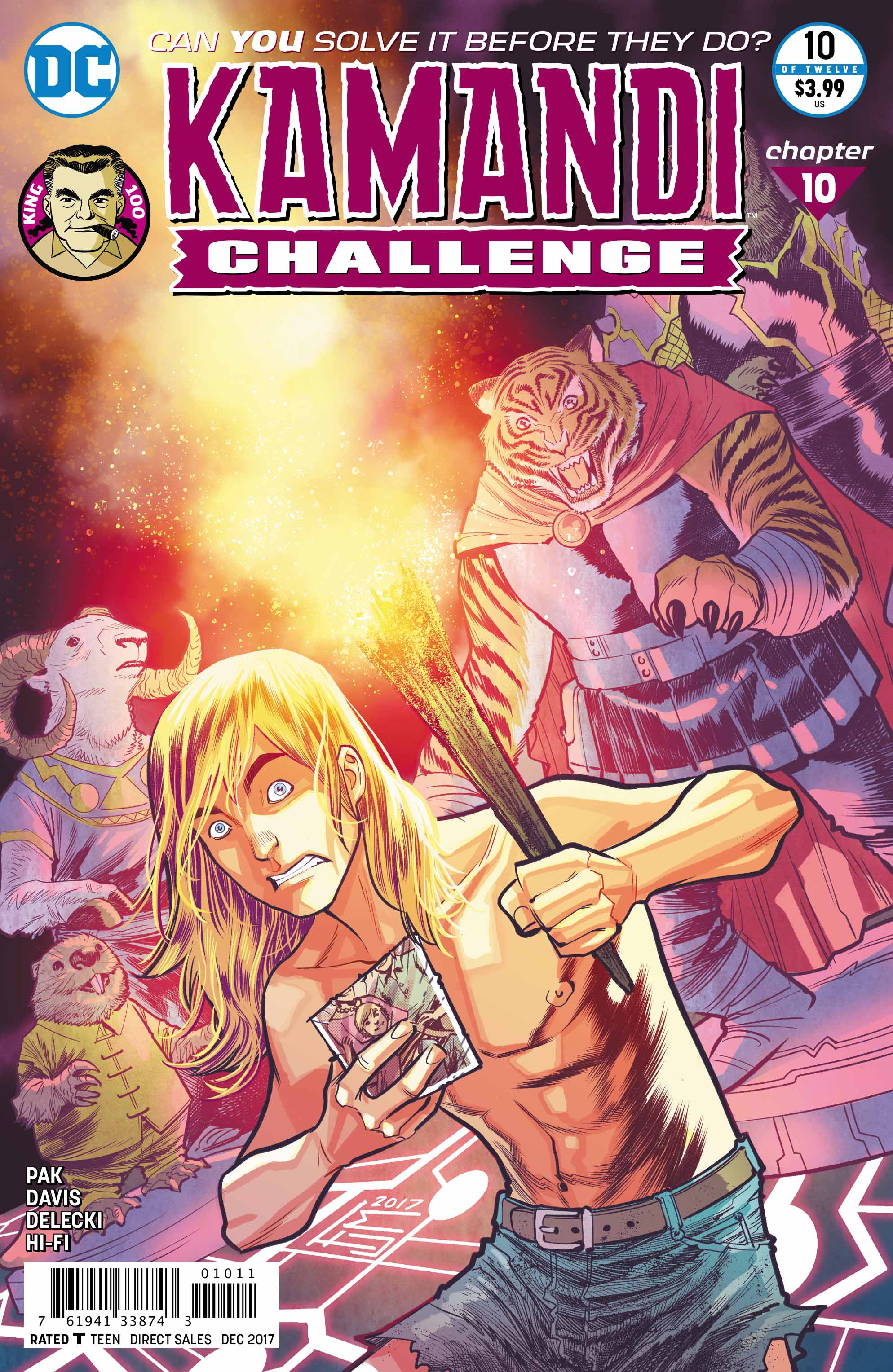 Exclusive Preview: The Kamandi Challenge #10 Unleashes The Beasts