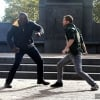 The Heroes For Hire Come To Blows In Latest Set Photos For Luke Cage Season 2