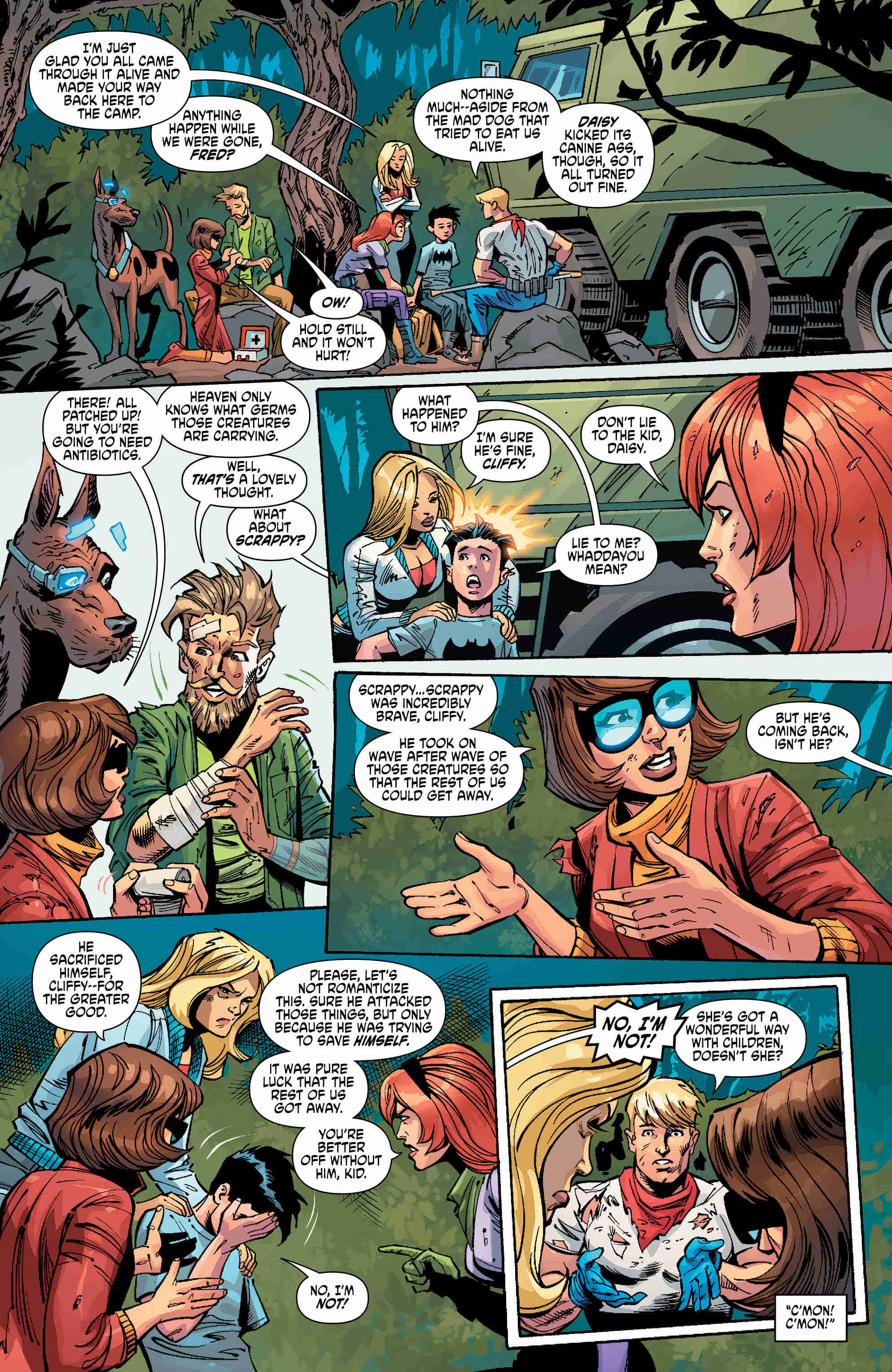 Exclusive Preview: Those Meddling Kids Regroup In Scooby Apocalypse #18