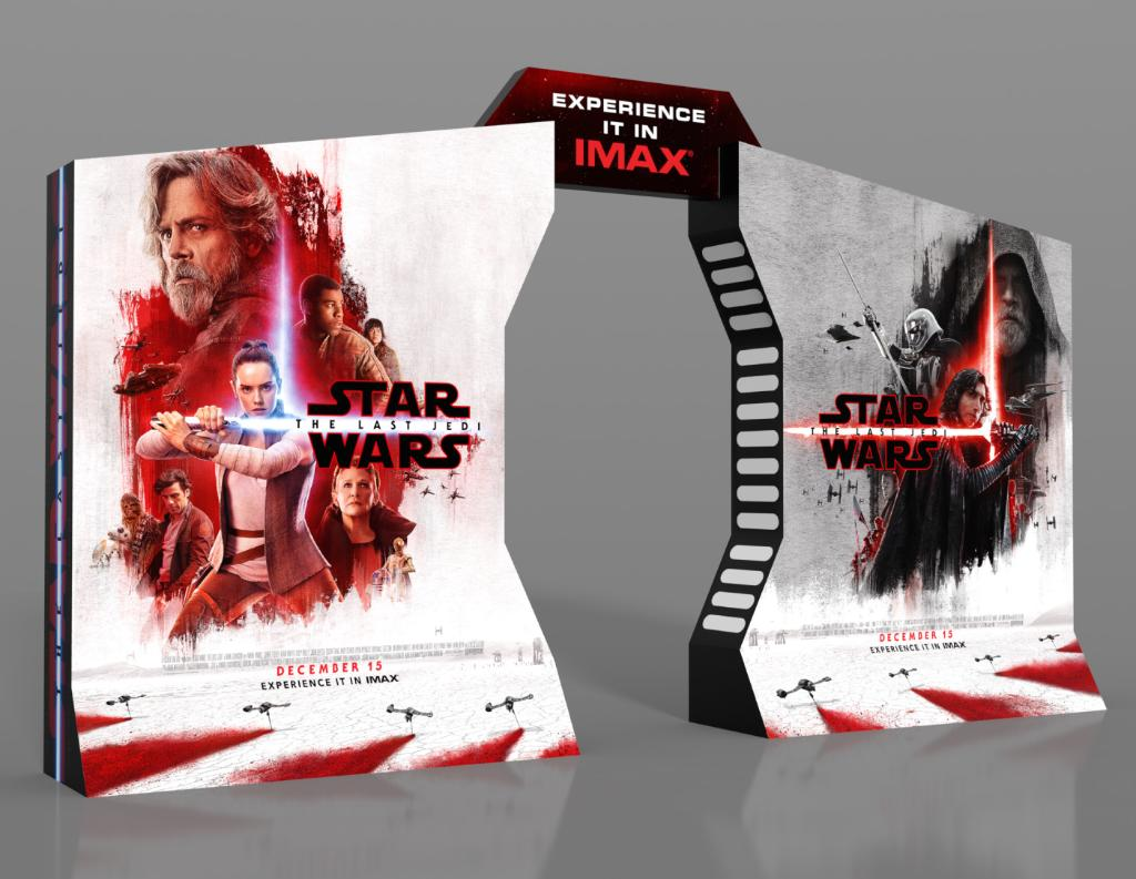 Is The IMAX Standee For Star Wars: The Last Jedi Hiding A Spoiler In Plain Sight?