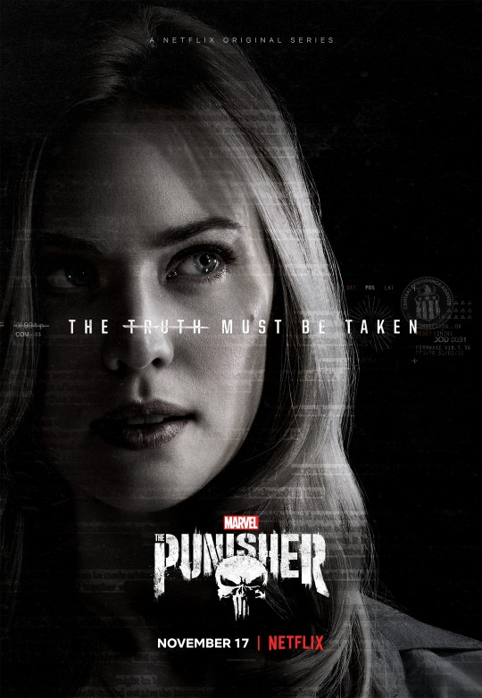 Karen Page Headlines New Poster For The Punisher, But The Daredevil Star Wasn't Always Part Of The Script