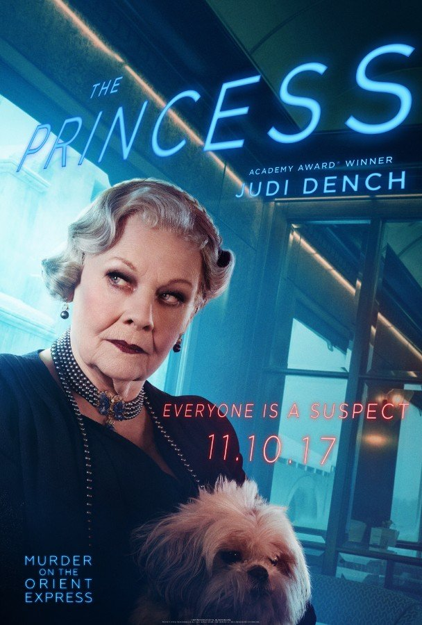 Everyone's A Suspect On New Murder On The Orient Express Posters