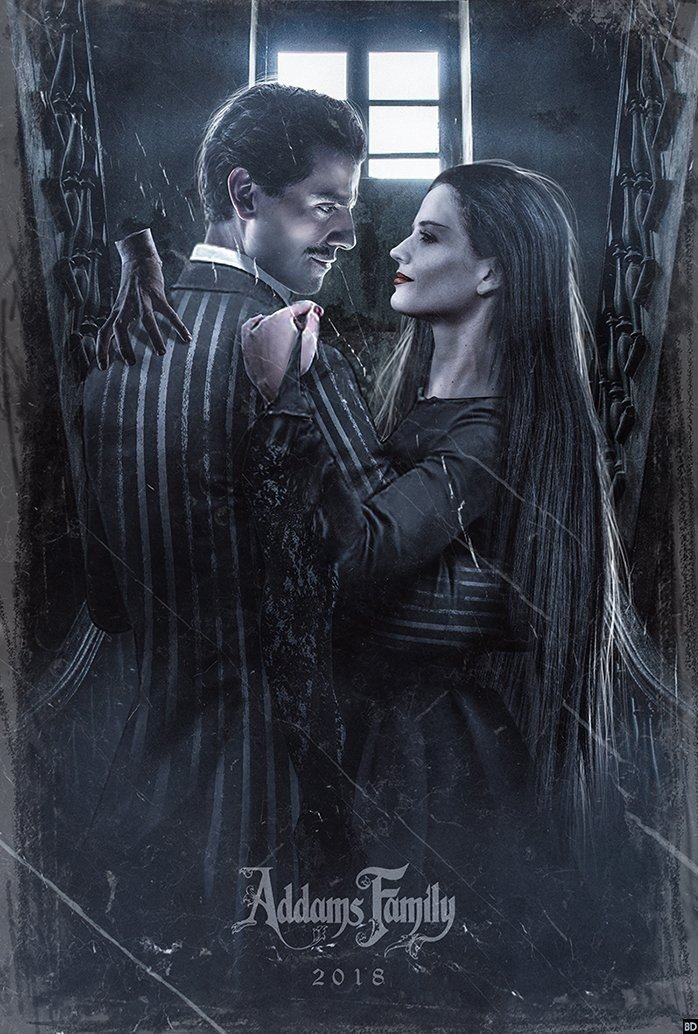 Fan Poster Imagines Addams Family Reboot With Oscar Isaac And Eva Green