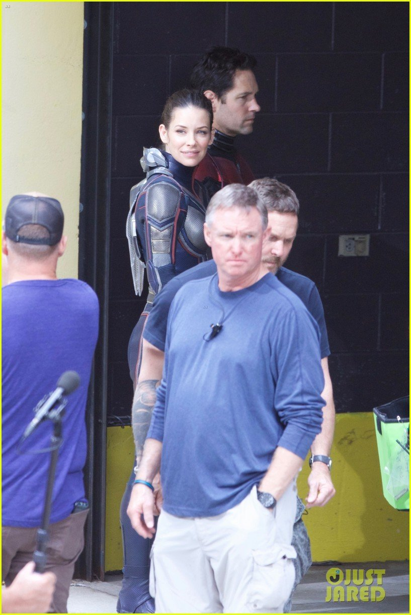 The Titular Duo Joins Forces In Latest Ant-Man And The Wasp Set Pics