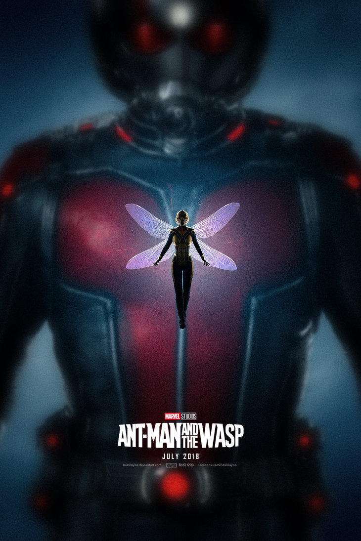 Explosive Ant-Man And The Wasp Fan-Made Poster Teases Giant Man