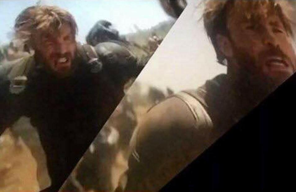 Leaked Avengers: Infinity War Photo Shows Off A Bearded Captain America