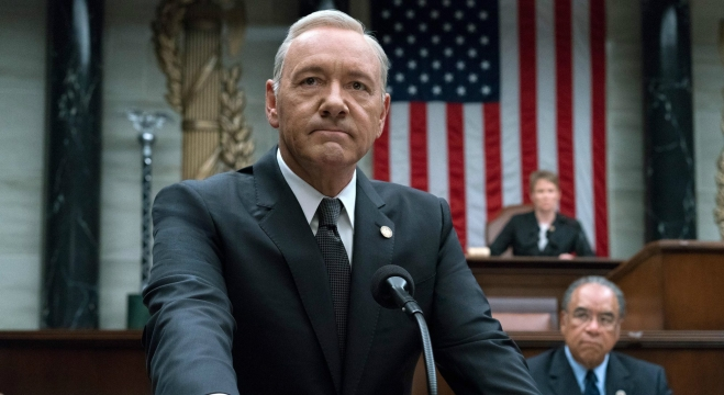 "House Of Cards Crew Members Accuse Kevin Spacey Of ""Predatory"" Behavior"
