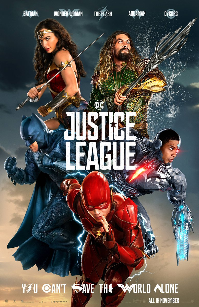 Epic Justice League Banner Unites Five Of The Six; Check Out New Concept Art Featuring The Flash