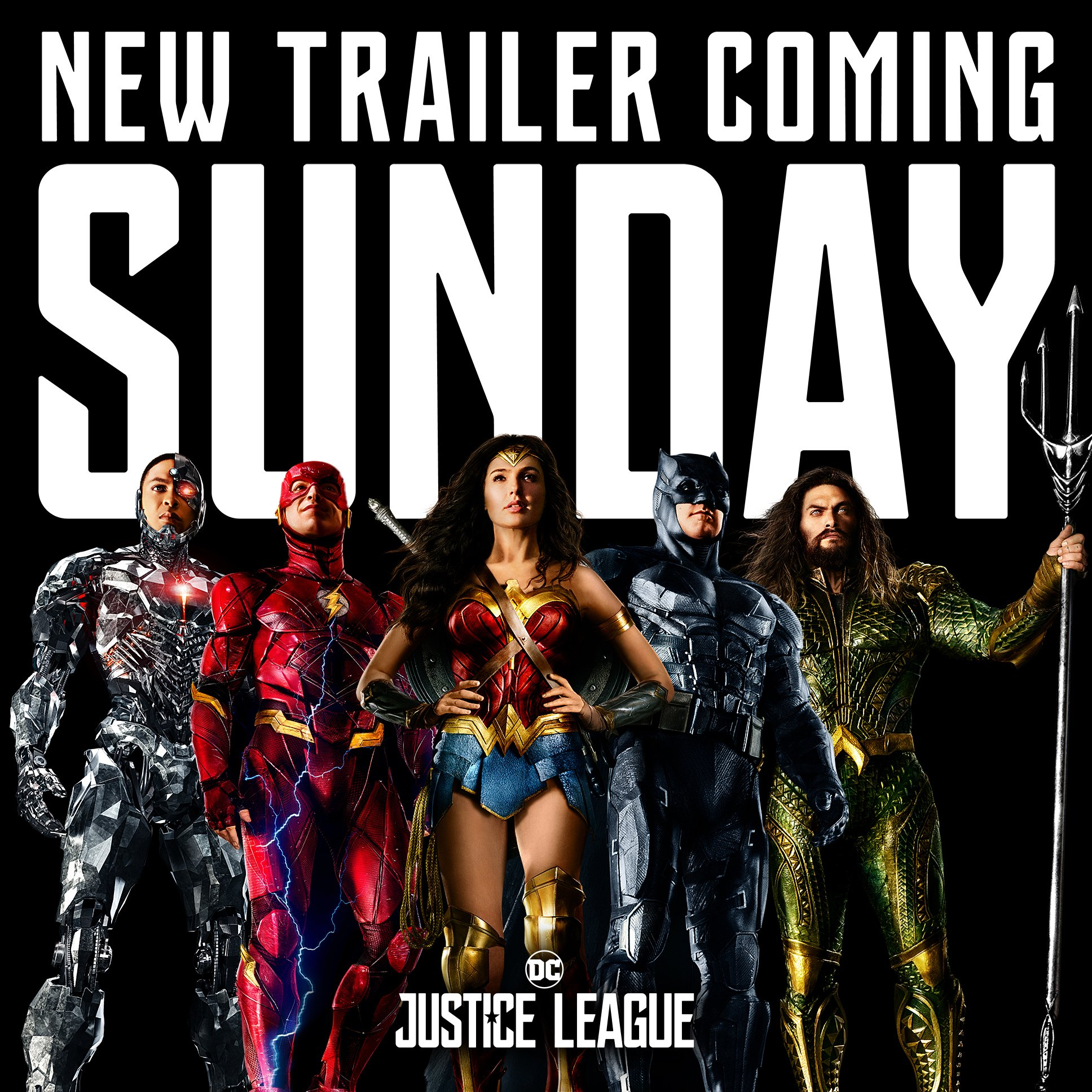 Here's The Exact Time The New Justice League Trailer Will Drop, And How Long It'll Run