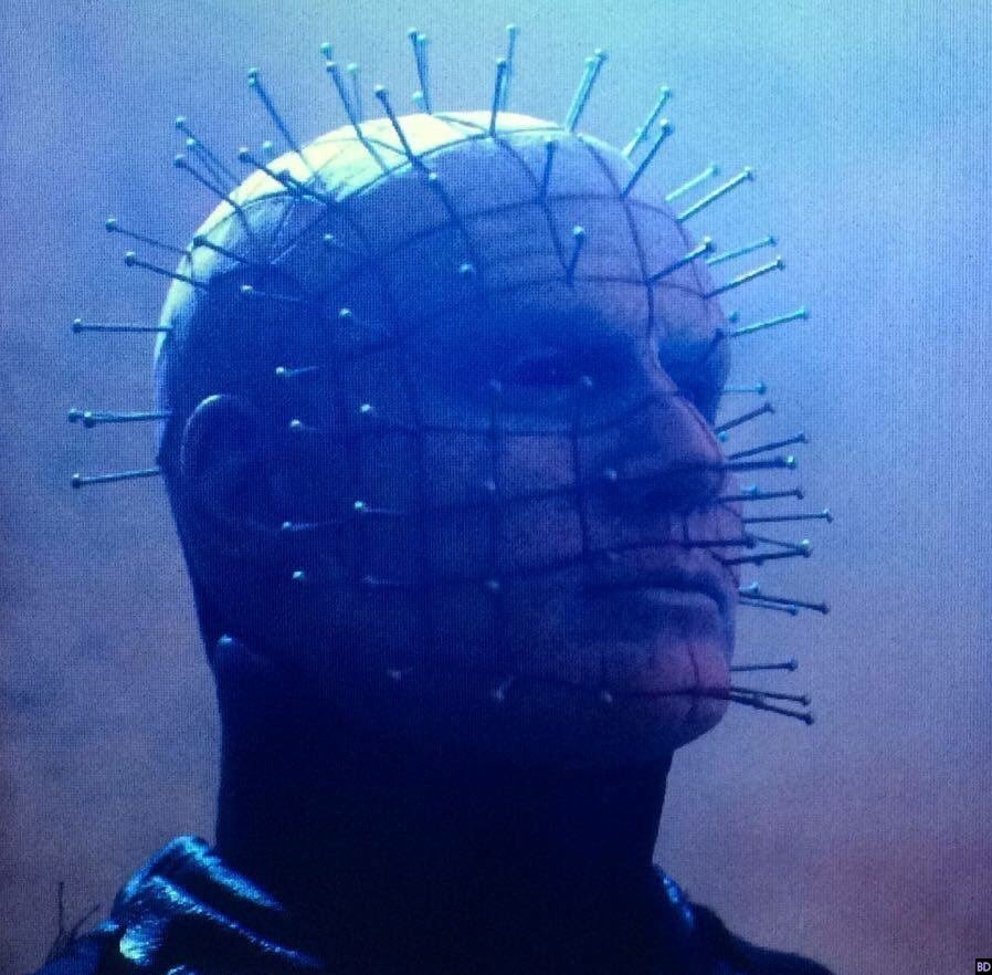 New Pic Of Hellraiser: Judgment's Pinhead Rises From The Depths