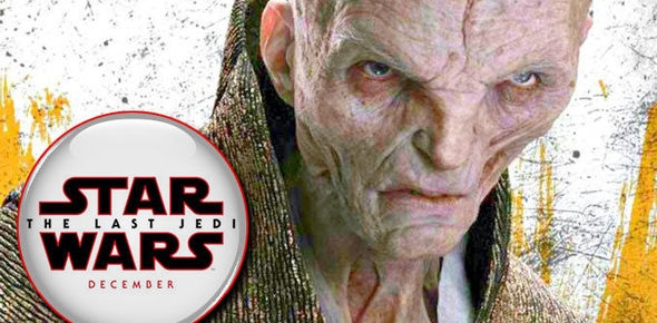 "The Last Jedi's Andy Serkis Hints At Snoke's ""Vulnerable"" Side"