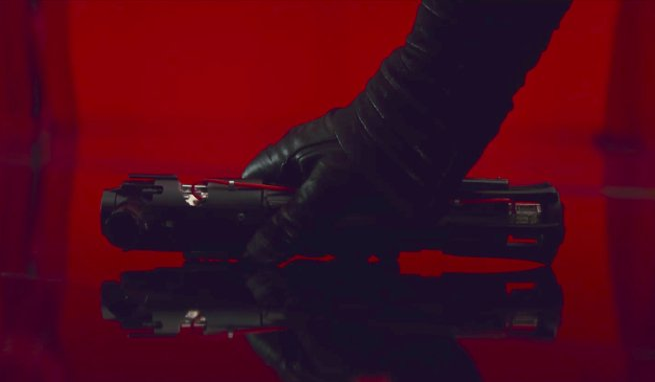 Looks Like Kylo Ren Will Be Wielding A Remodeled Lightsaber In Star Wars: The Last Jedi