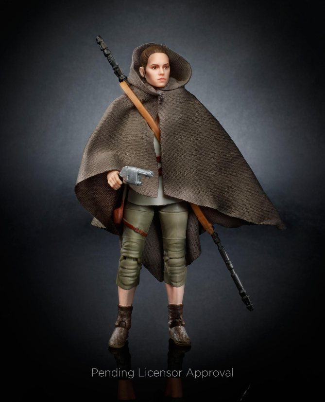Hasbro's Star Wars: The Last Jedi Toys Give Us New Looks At Rey And DJ