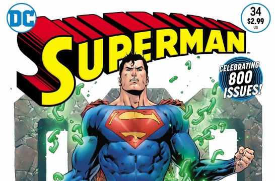 Exclusive Preview: A Major Twist Awaits In Superman's 800th Issue
