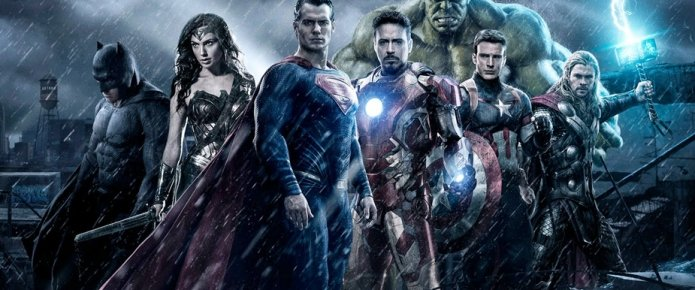 The Justice League Murder Avengers And X-Men On International Poster
