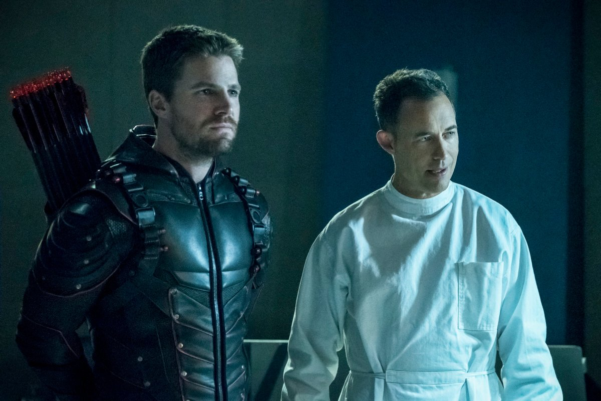 Arrowverse Crossover Unmasks Blitzen And Prometheus-X, May Have Introduced XS