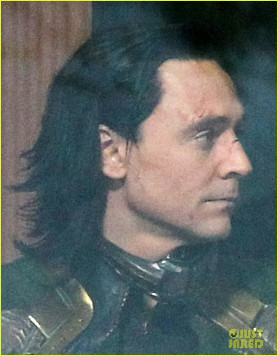 Loki Rolls Back The Years In Latest Set Photos From Avengers 4