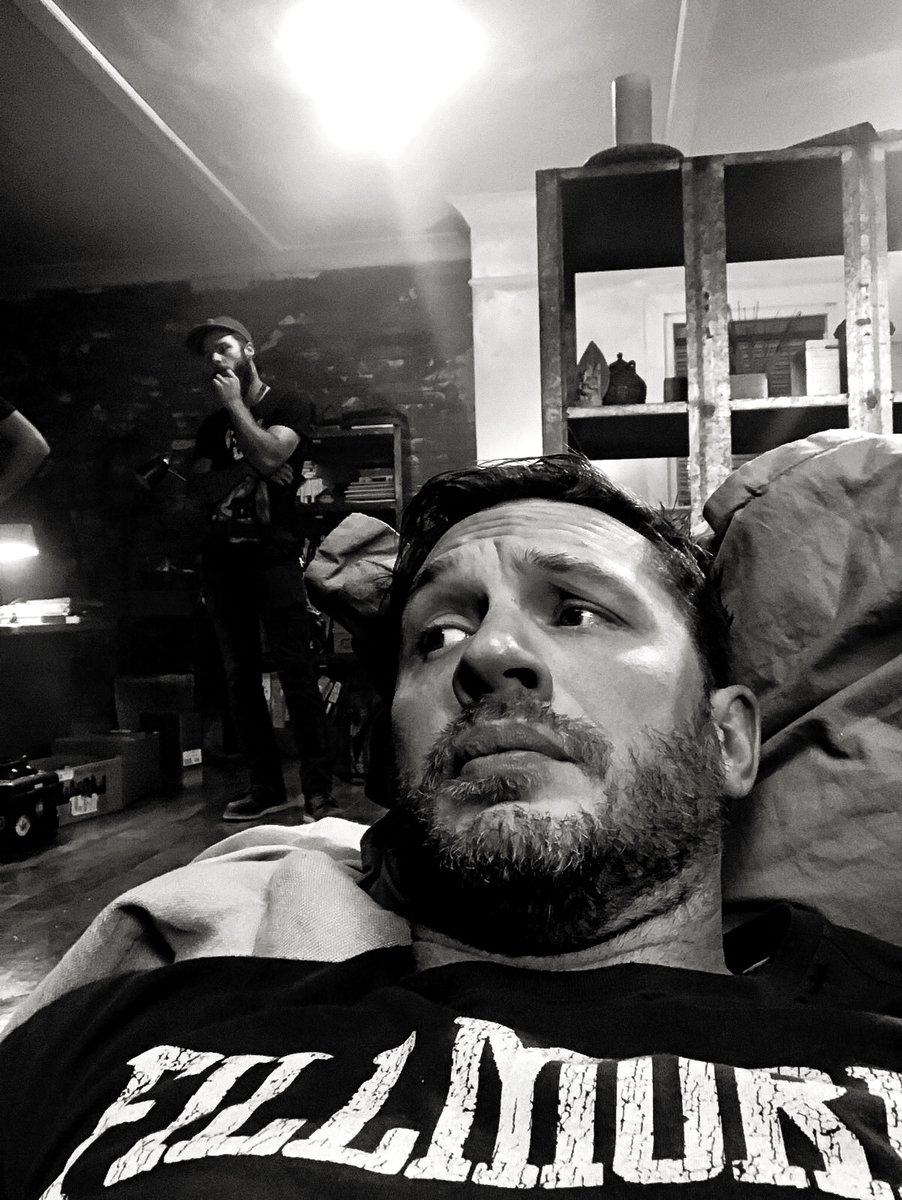 Tom Hardy's MMA Trainer Believes The World Is Not Ready For Venom