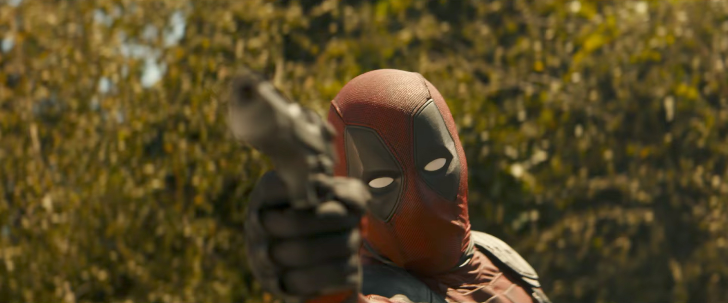 Deadpool 2 Screenshots Skip Past Reynolds' Bob Ross Impression And Get Straight To The Action