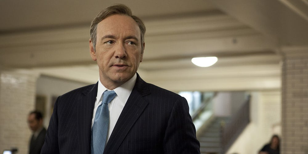 Kevin Spacey Has Been Fired From House Of Cards