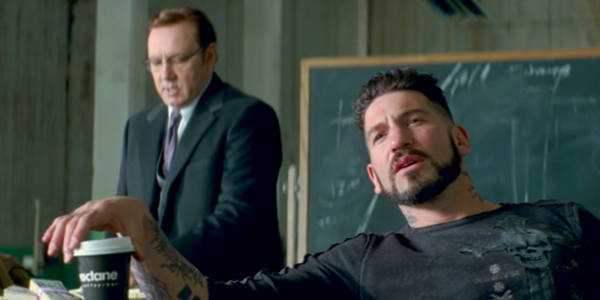 """Jon Bernthal """"Lost All Respect"""" For Kevin Spacey While Filming Baby Driver"""