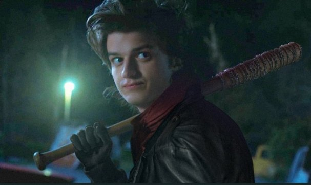 Awesome Fan Edit Imagines Stranger Things Star Joe Keery As The Young Negan