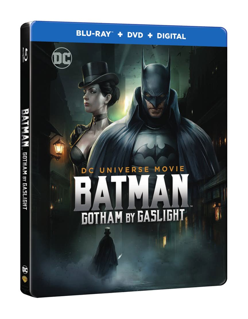 Batman: Gotham By Gaslight Box Art And Release Date Revealed