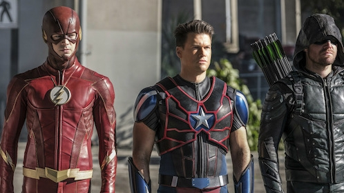The Arrowverse Comes Together In Even More New Crossover Photos