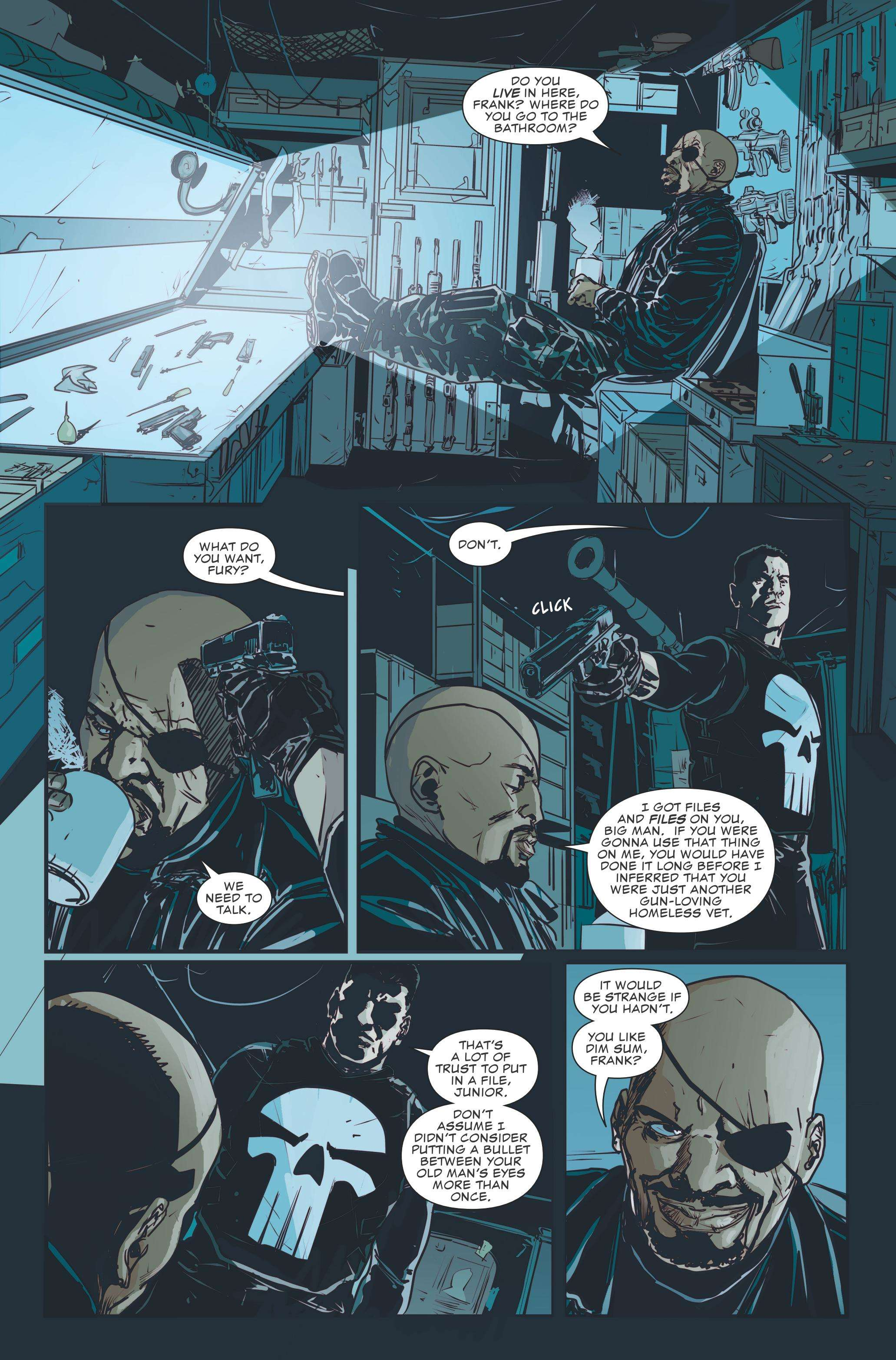 The Punisher #218 Review