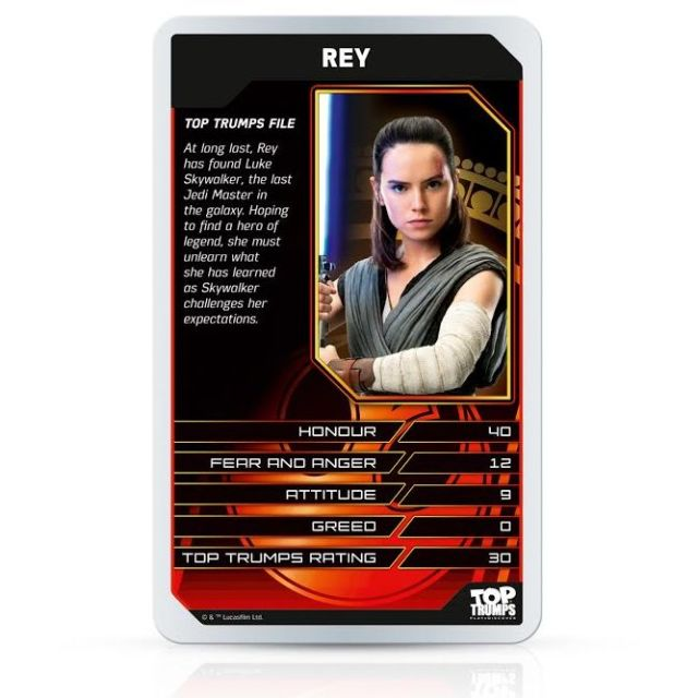 New Star Wars: The Last Jedi Card Game Reveals A Bit More About Kylo And Rey