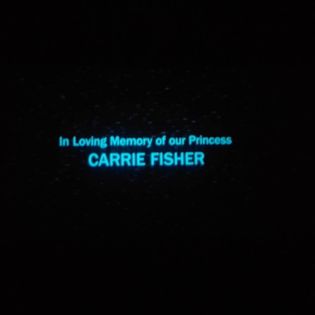Star Wars: The Last Jedi's Tribute To Carrie Fisher Revealed