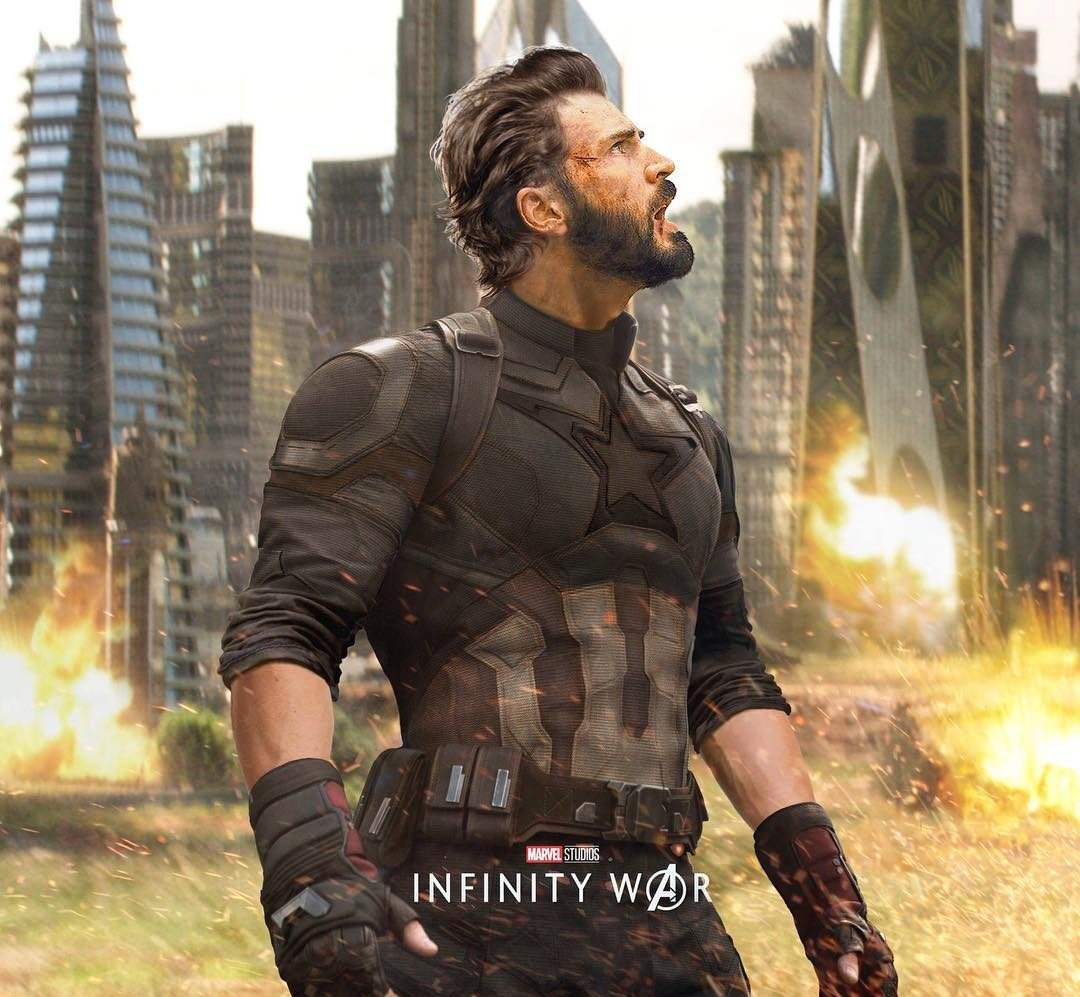 New Avengers: Infinity War Poster Finds Captain America In A