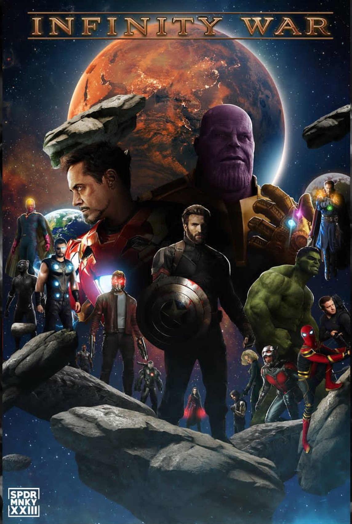 Alleged Footage From Avengers Infinity War Spells Bad