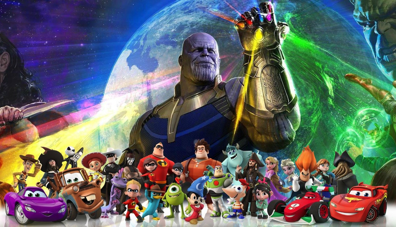 the avengers infinity war trailer remade with disney