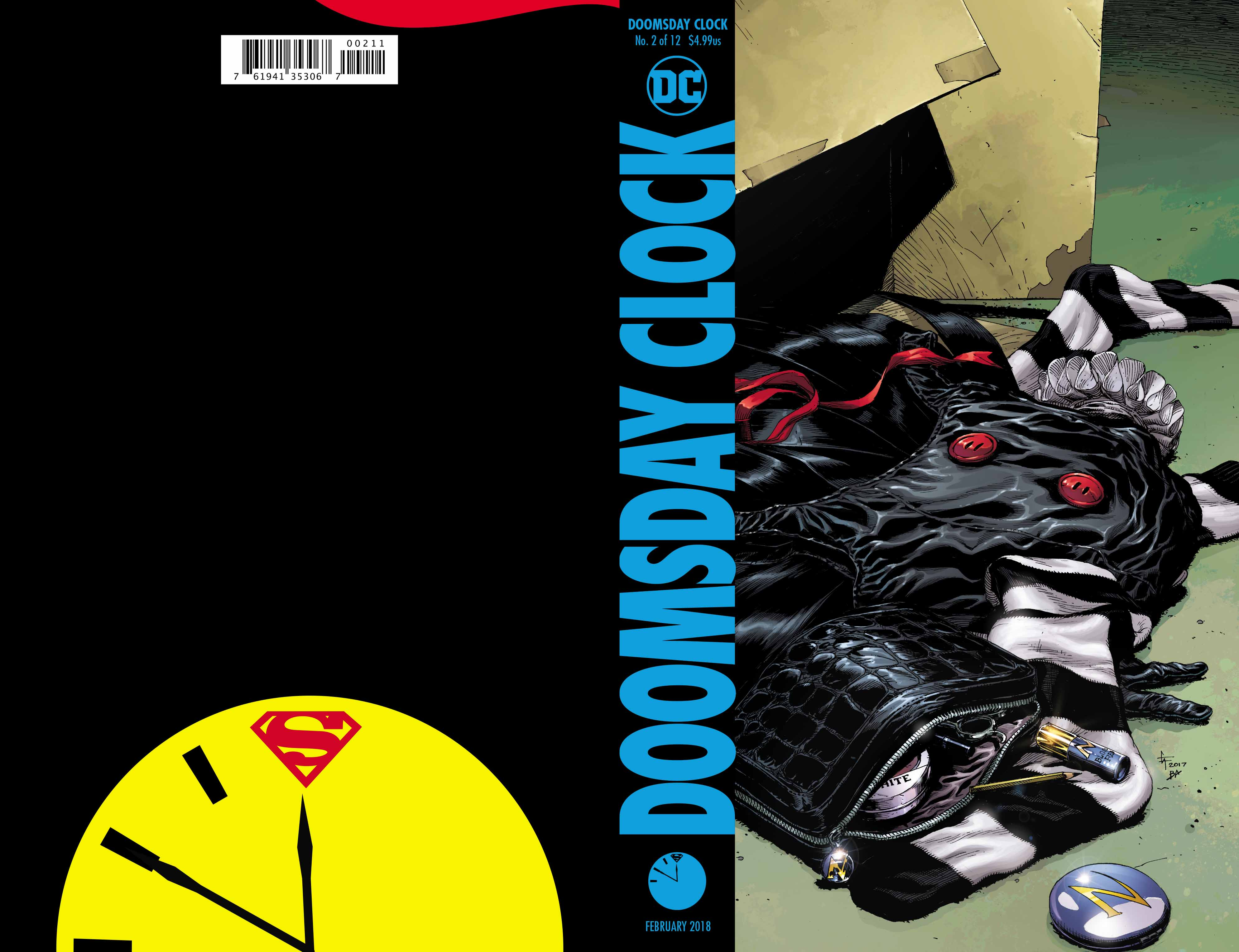 Doomsday Clock #2 Reaffirms The Killing Joke As Part Of Rebirth Continuity