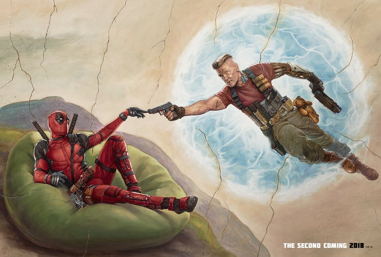 New 'Deadpool 2' Art Teases the Second Coming with Cable