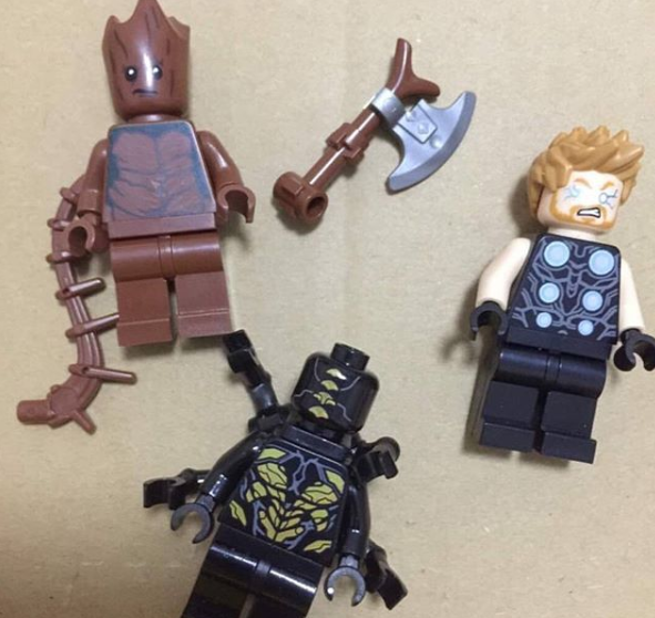 Avengers Infinity War Lego Set Hints At Thor S Mighty New