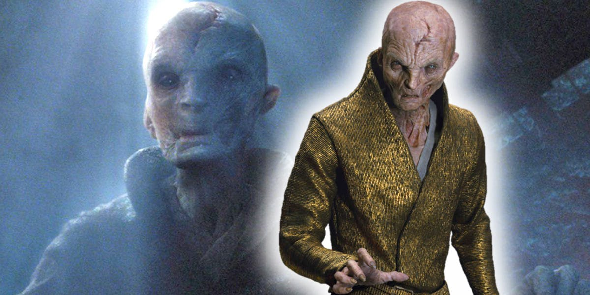 New Darth Vader/Snoke Connection Spotted In Star Wars: The Last Jedi