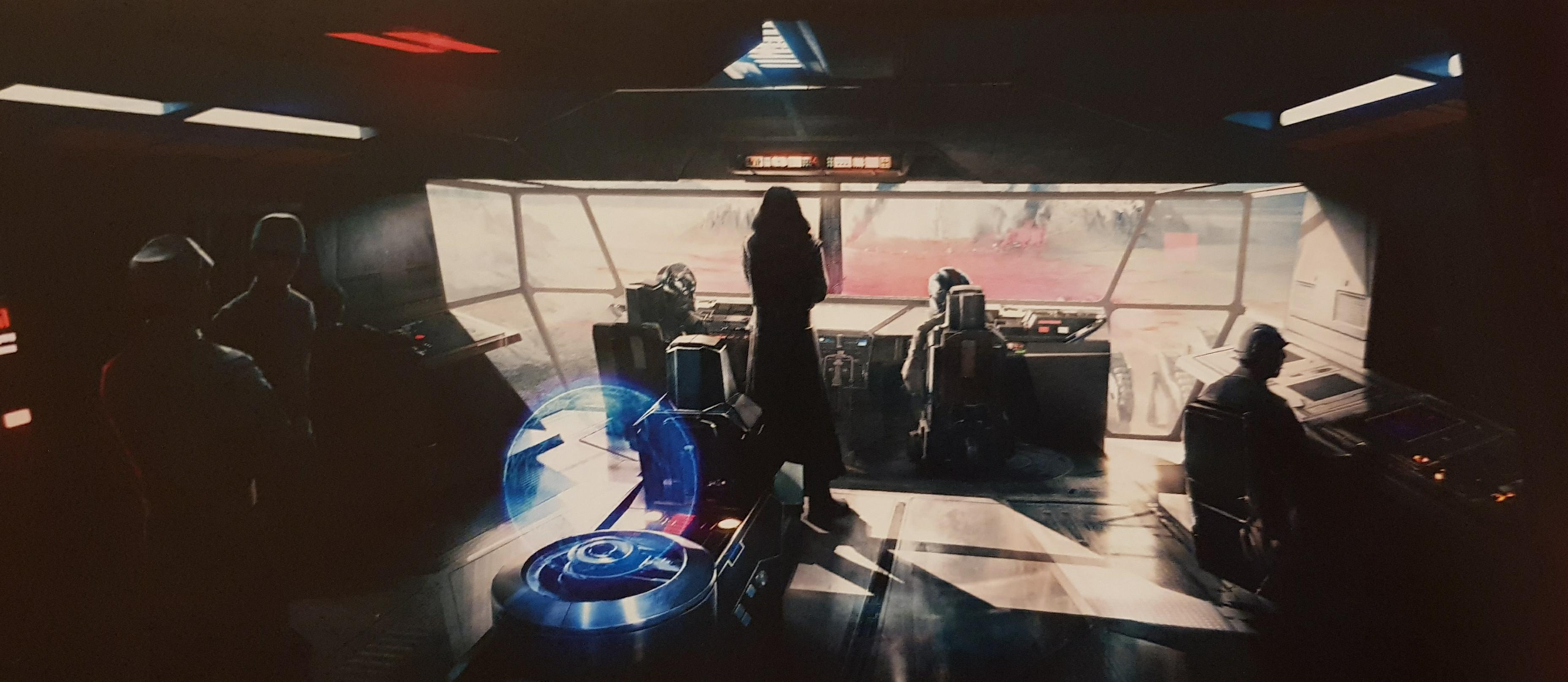 Stunning Concept Art For The Last Jedi Paints Kylo Ren And Snoke In A Different Light
